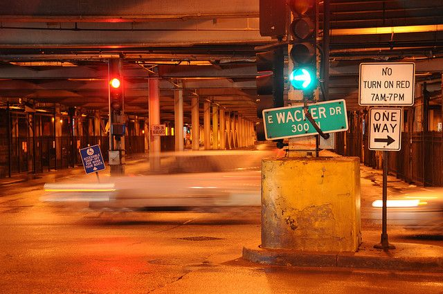 Lower Wacker Drive, Chicago IL | Chicago | Chicago, Chicago illinois ...