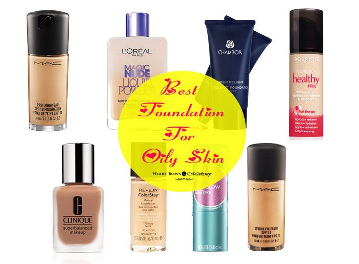 Best Foundation For Oily Skin in India: Full Coverage For Acne ...