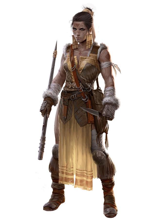 Female Rogue - Pathfinder RPG PFRPG DND D&D d20 fantasy ...