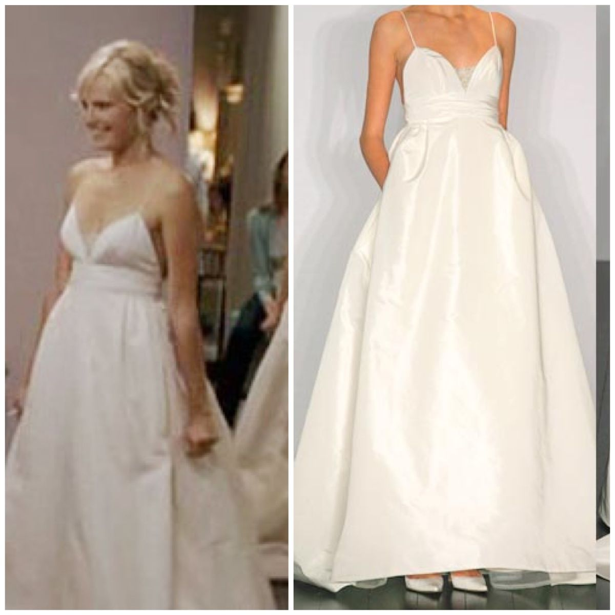 27 dresses wedding dress  wedding dress from the movie  Dresses  Dream wedding  Pinterest
