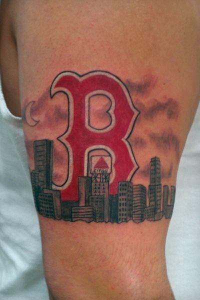 Boston love by gary bastarache at sugar skull tattoo for Tattoo artists boston