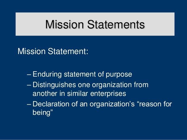 Related Image  Mission Statements