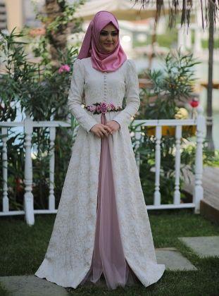 Minel Ask Tesettur Giyim Modanisa Com The Dress Musluman Elbisesi Basortusu Modasi