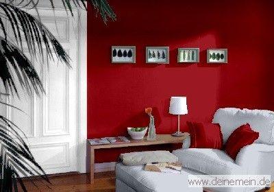 Farbgestaltung Fur Ein Wohnzimmer In Den Wandfarben Ziegel My Loft