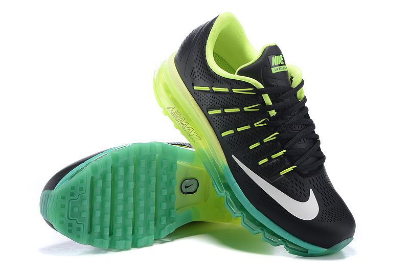 save off 8bc2a 8c66f 2018 Factory Authentic Nike Air Max 2016 Leather Black Volt Turquoise