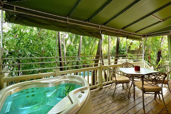 Key West Condo Al Flamingo Hideaway Private Hot Tub Lush Landscape Homeaway