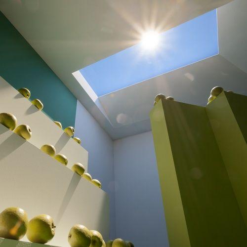 Diese Lampe Verpasst Eurem Zimmer Einen Kunstlichen Himmel Falsche Fenster Oberlicht Licht In Der Dunkelheit