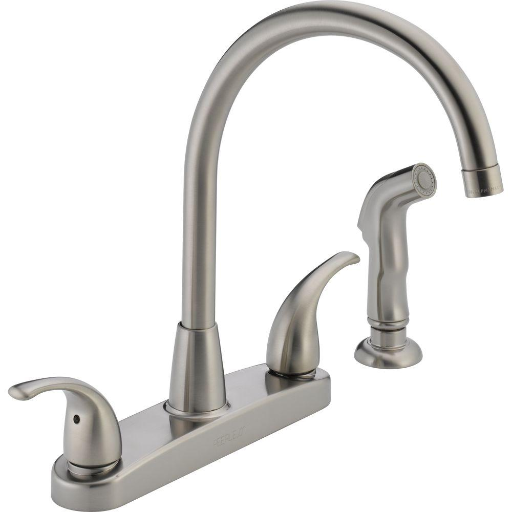 Pin On Products Cheap kitchen faucets with sprayer