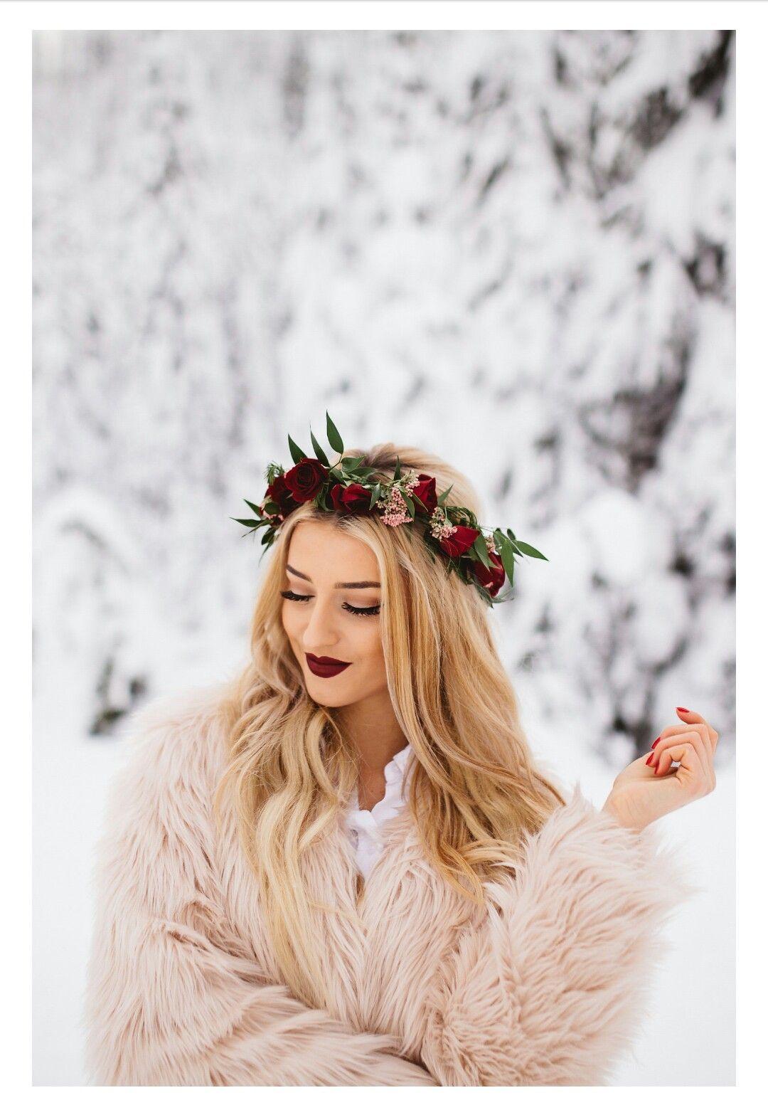 Ideal winter photoshoot
