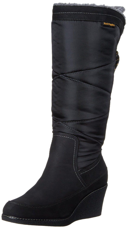 Hush puppies womens hilde hyde snow boot amazing shoe