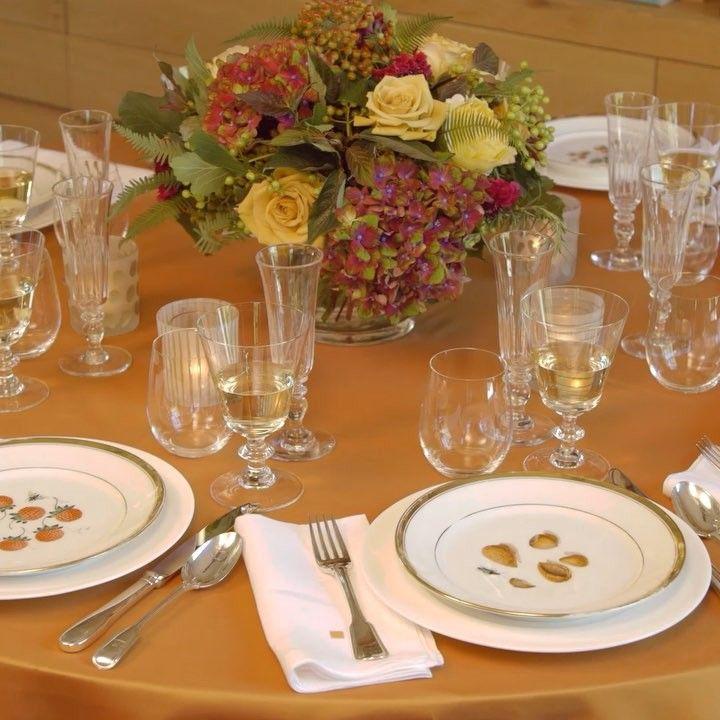 Thanksgiving Table Setting   Set the table   Pinterest   Barefoot ...