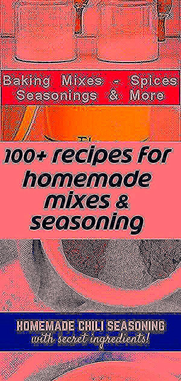 100 Recipes For Homemade Mixes  Seasoning Blendscake mix Bisquick Hamburger Helper dry soups spice  seasoning blends etc This chili seasoning recipe is a perfect blend to...