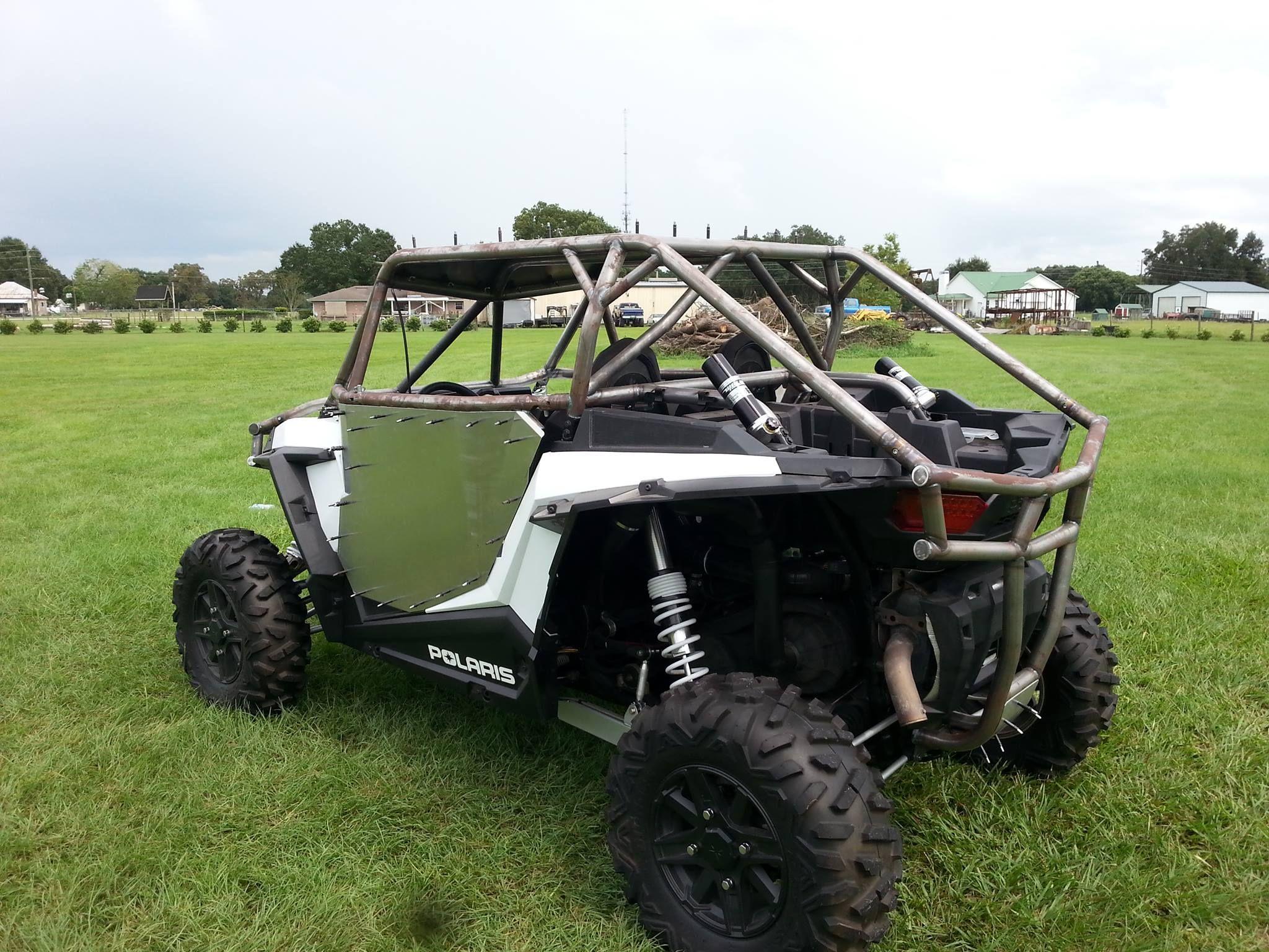 Custom built Polaris RZR 1000 roll cage, bumpers & doors  | Polaris