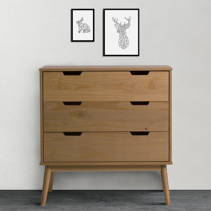 Pamala 3 Drawer Chest House Inspirations Pine Bedroom Furniture