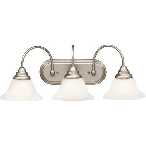 Photo of Kichler Telford 3 light wall lamp bathroom lamp – brushed nickel 5993NI # 5993ni #ba …