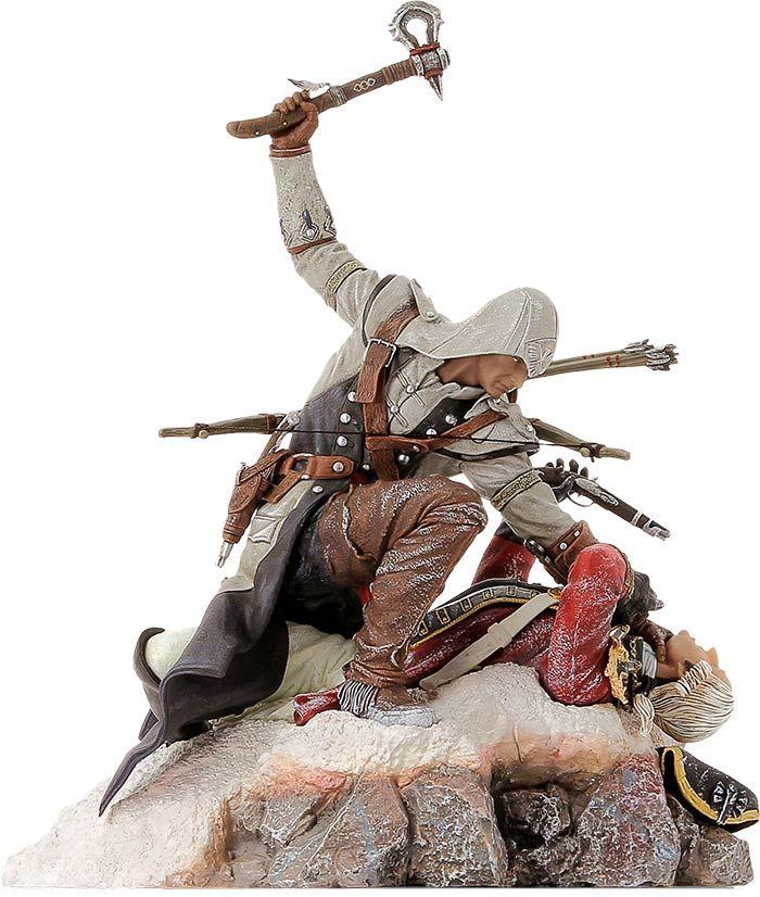 """Ubisoft dévoile une nouvelle figurine Assassin's Creed  - """"Connor, the Last Breath"""" est la dernière création…"""