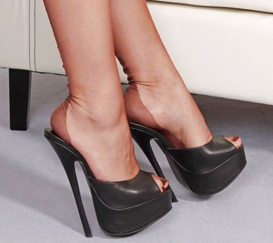 Women In Nylons Rick 180 S High Heel Mule Corner Pinterest