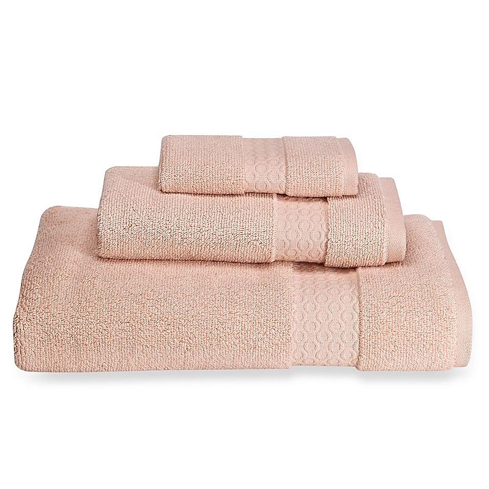 Loft By Loftex Sopht Bath Towel In Morganite Pink Washing