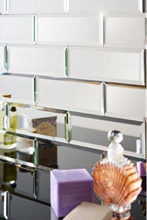 MY-Furniture verspiegelte silberne Fliese - Fliesen mit - fliesen für die küche