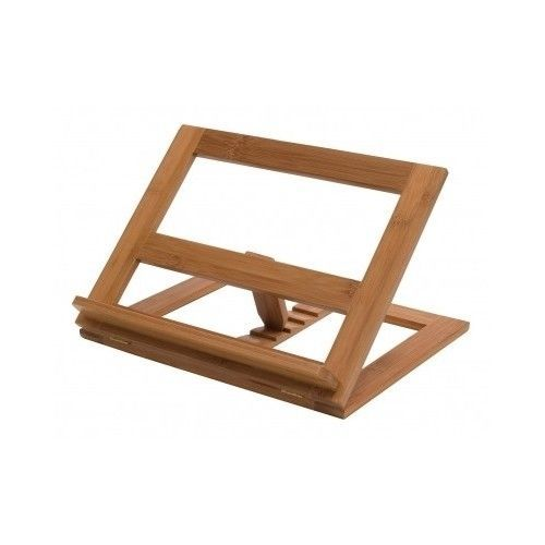 Book Chair Holder Stand Portable Recipe Wooden Bookstand