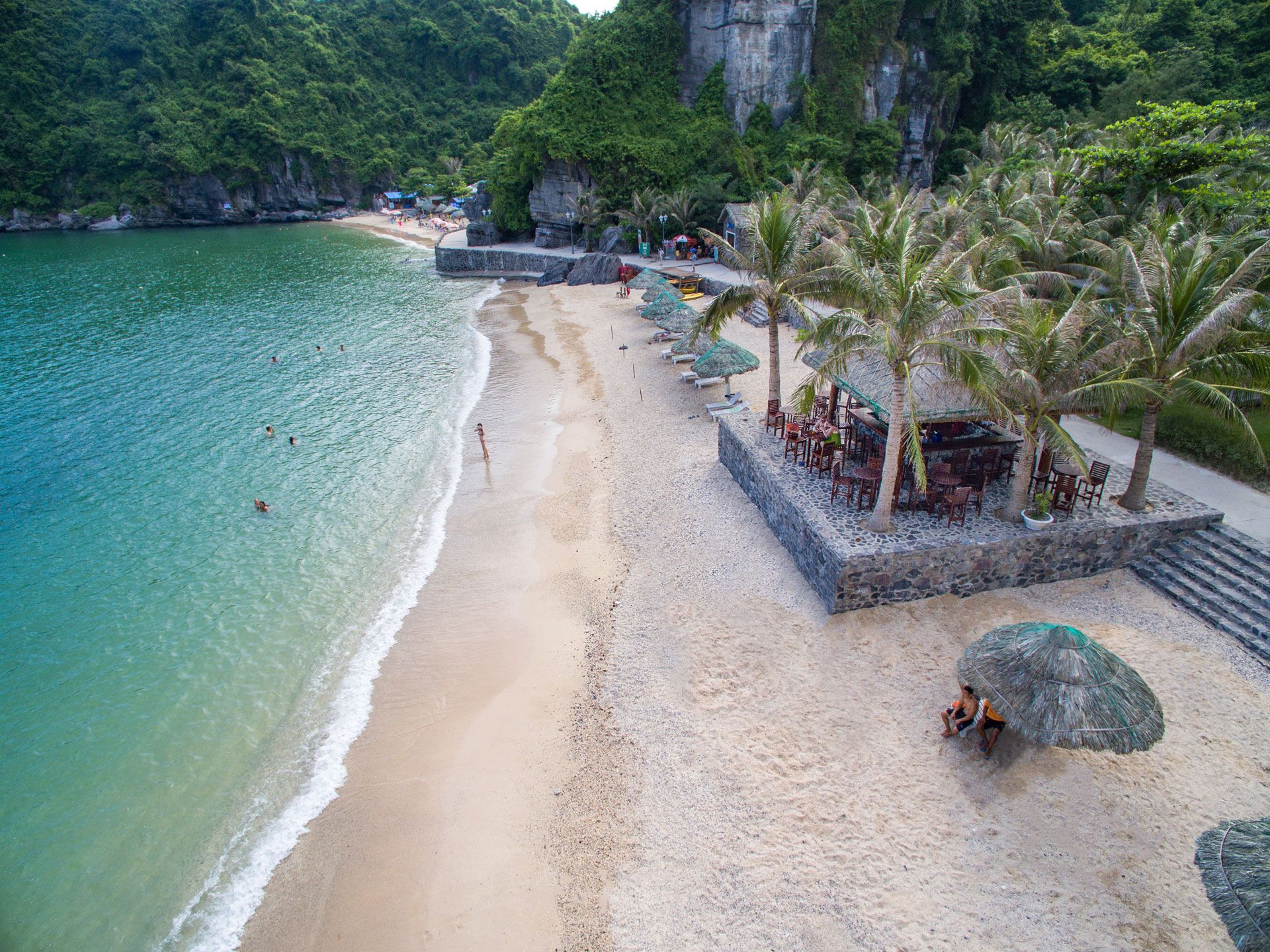 Cat Ba Beaches Cat ba island, Asia travel, Island resort