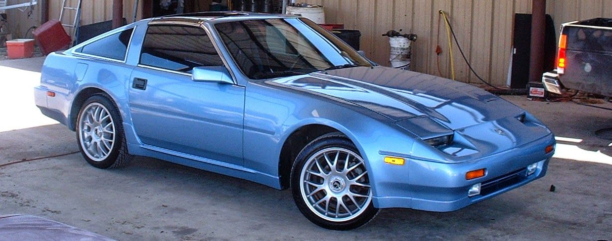 Fresh Paint Wheels Tires On My 1987 Z31 Sky Blue Nissan 300zx