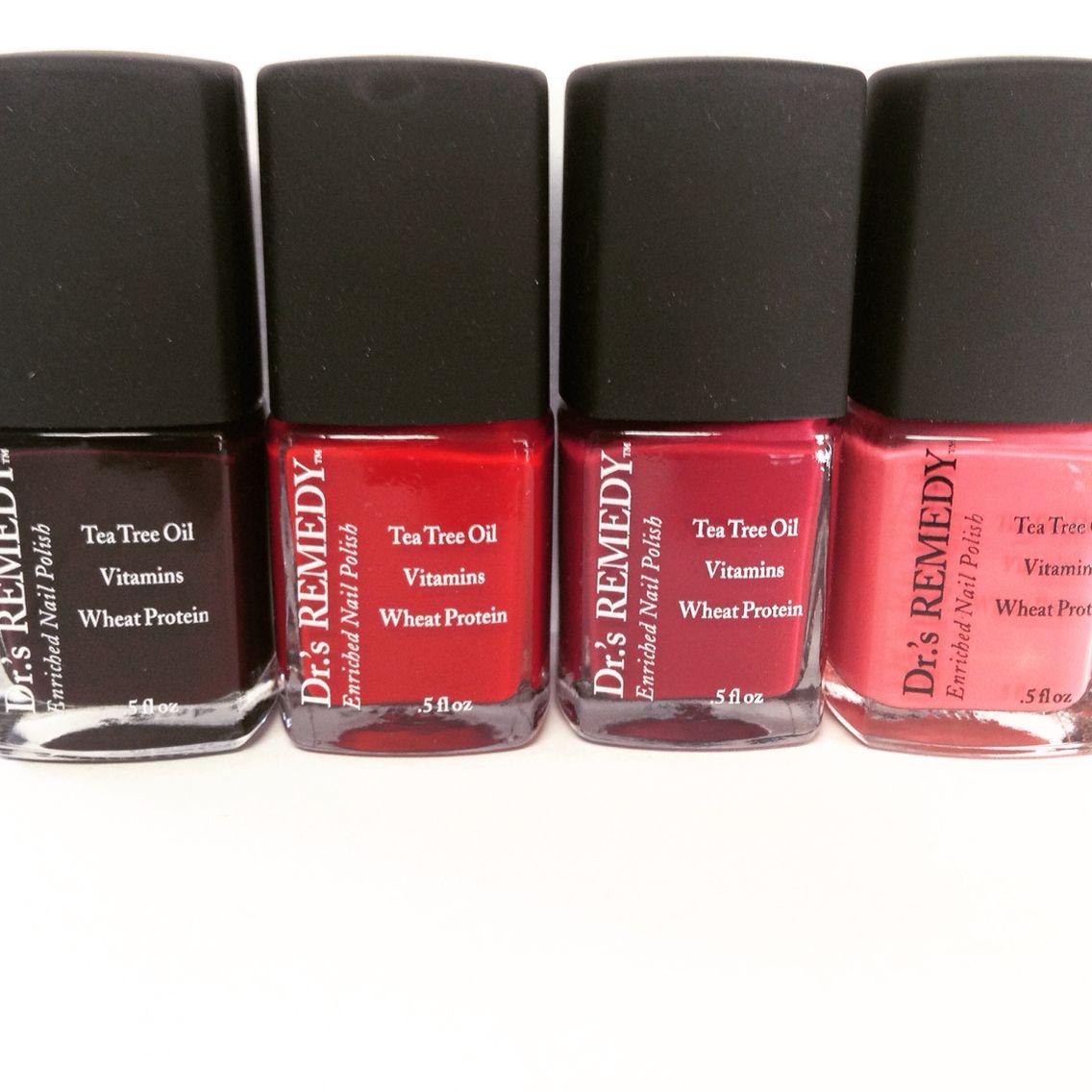 Dr.\'s Remedy all natural nail polish for healthy feet and nails ...