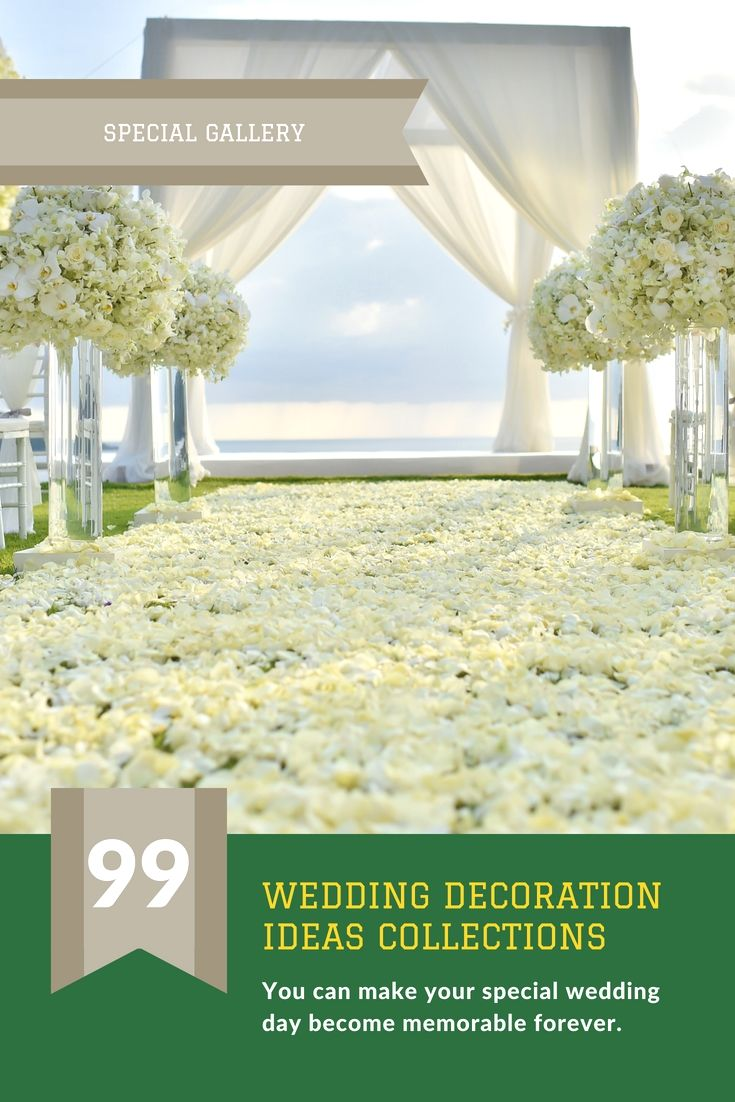 Wedding decoration designs  Dress Up Your Own Wedding Celebration Decoration By Using One Of