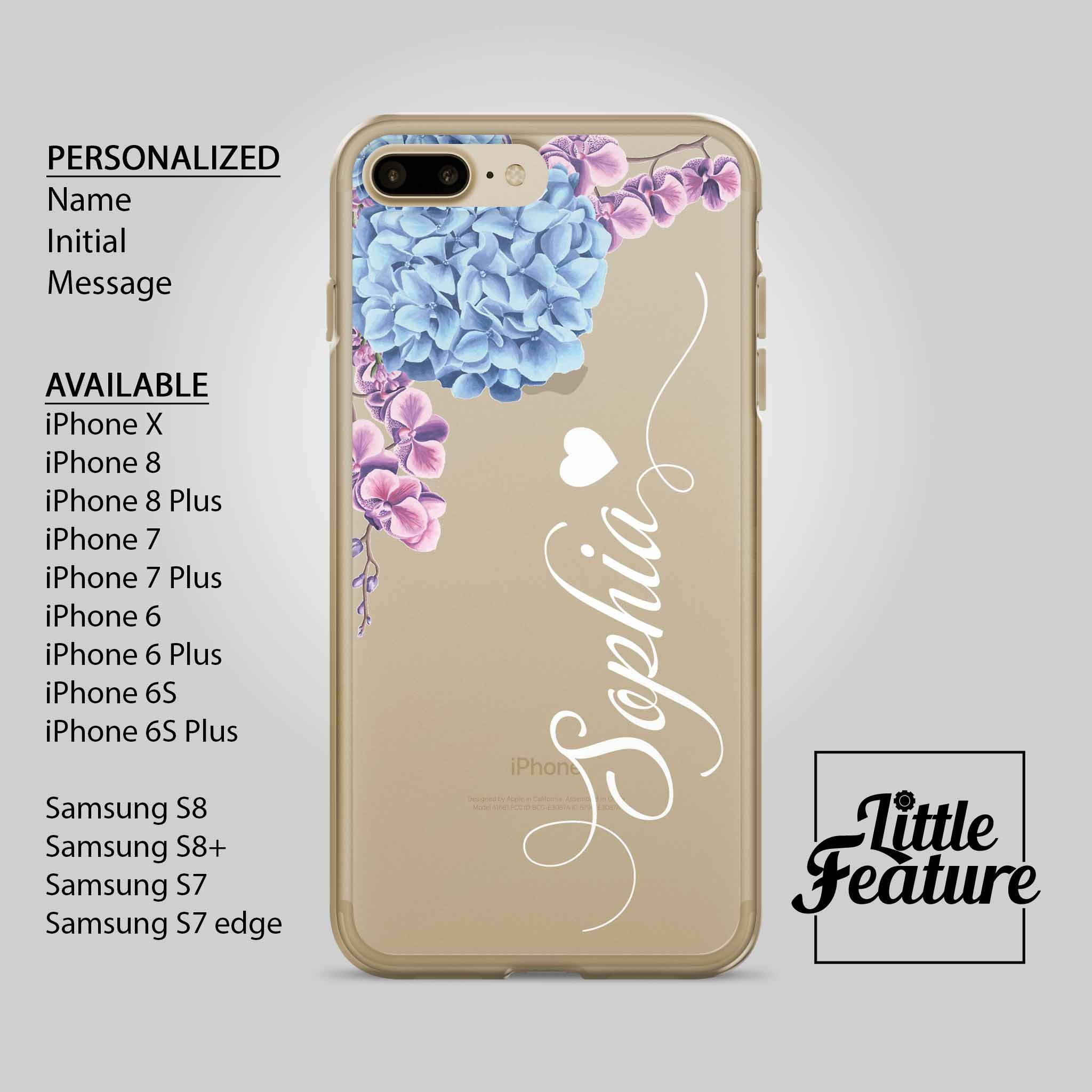 812c1d5513 Personalized iPhone Case / Name iphone case / Initial iphone case / personalised  Samsung Galaxy phone case Available for iPhone X , iPhone 8 , iPhone 8 plus  ...