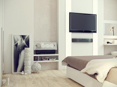 Slaapkamer tv ideeën | Woon ideeen | Pinterest | Searching