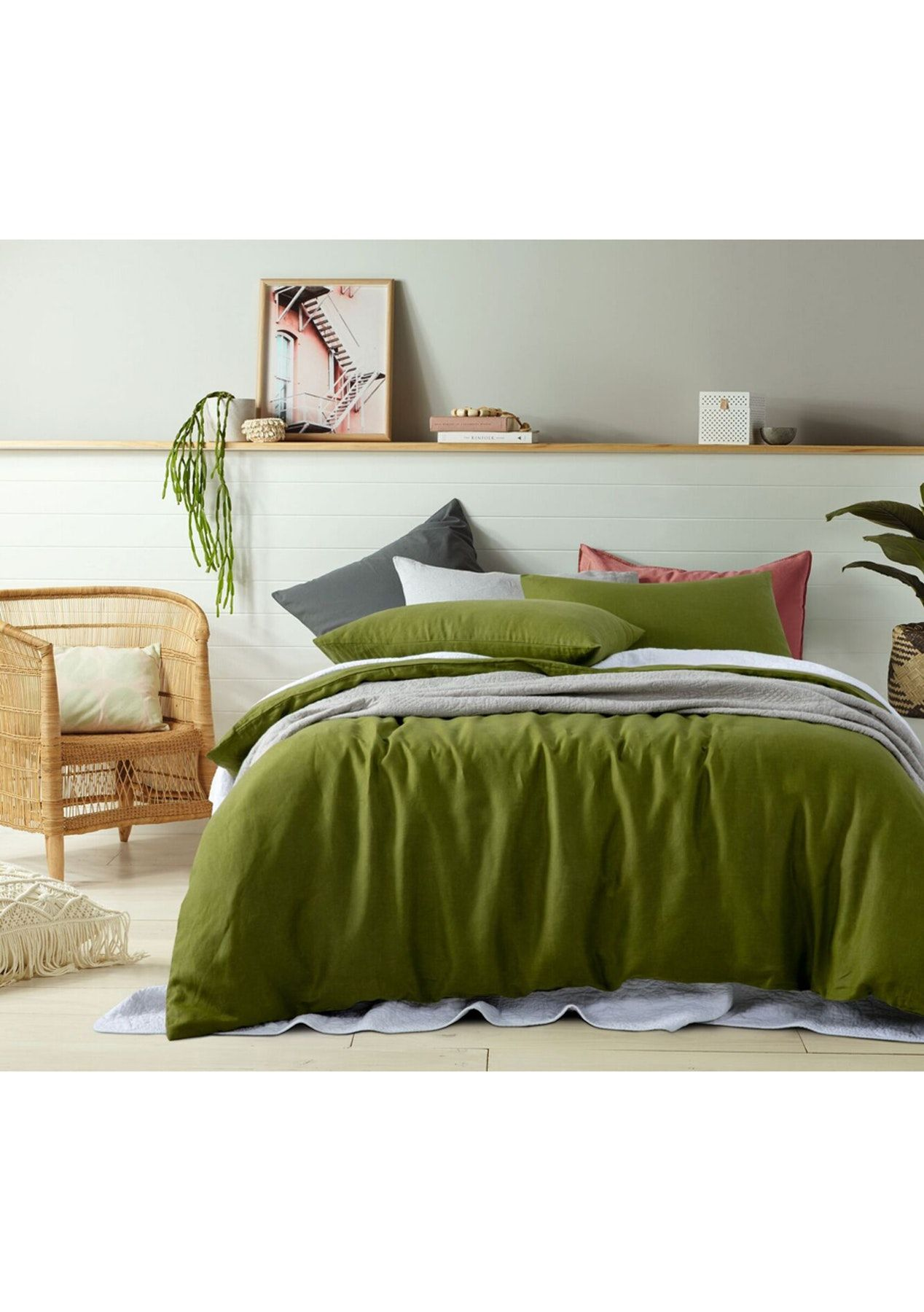 Layer Your Bed With Our Vintage Design 100 Linen Quilt Cover Set This Quilt Cover Set Is A Dream To Sleep In Quilt Cover Sets Quilted Duvet Cover Quilt Cover
