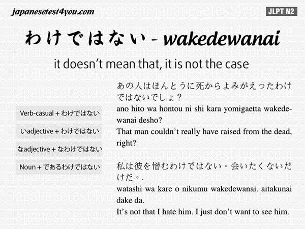 Learn Japanese Grammar N2: