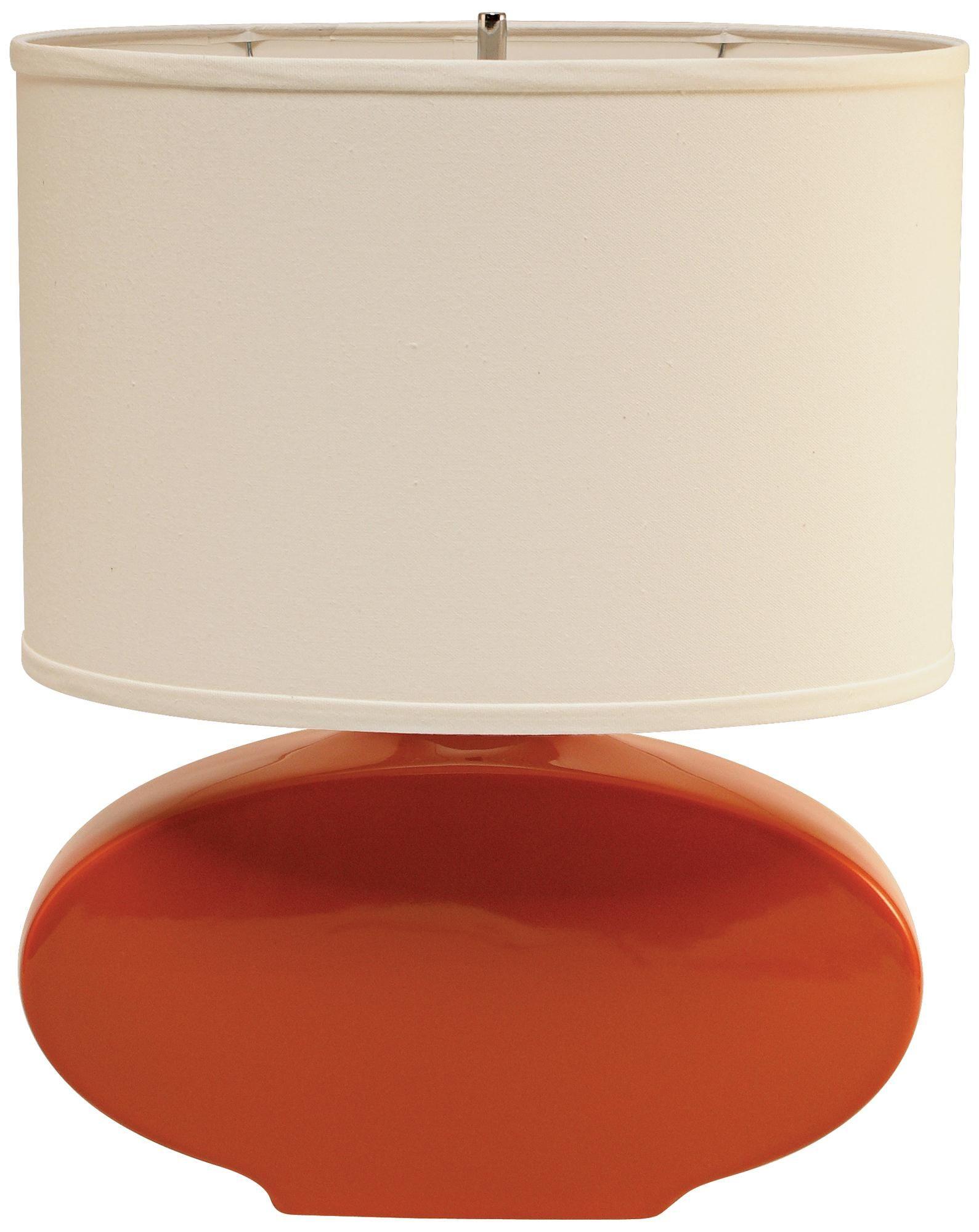 Haeger Potteries Paprika Oval Ceramic Table Lamp P1761 Lamps Plus Lamp Table Lamp Ceramic Table Lamps