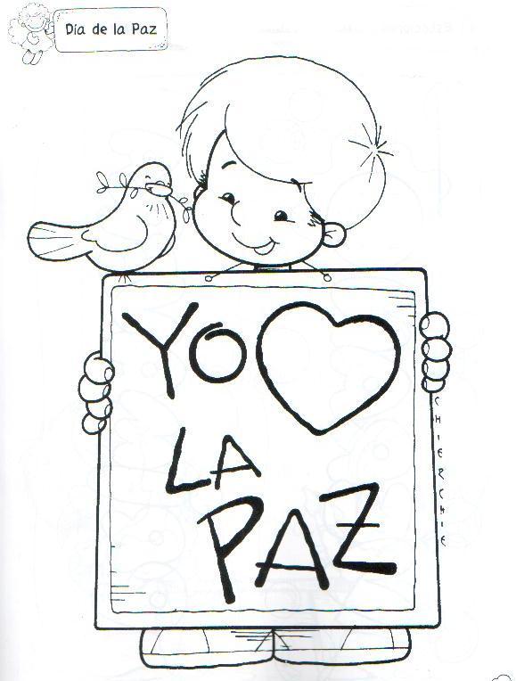 Dibujo De Una Nina Feliz Para Colorear Mostrando Un Cartel Pancarta Buscar Con Google Don Bosco Carmi Pattern Wallpaper