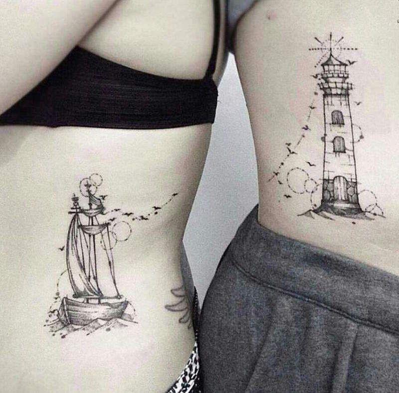 Tatouage Couple Original 70 Idees Pour Passer Sous L Aiguille Sans