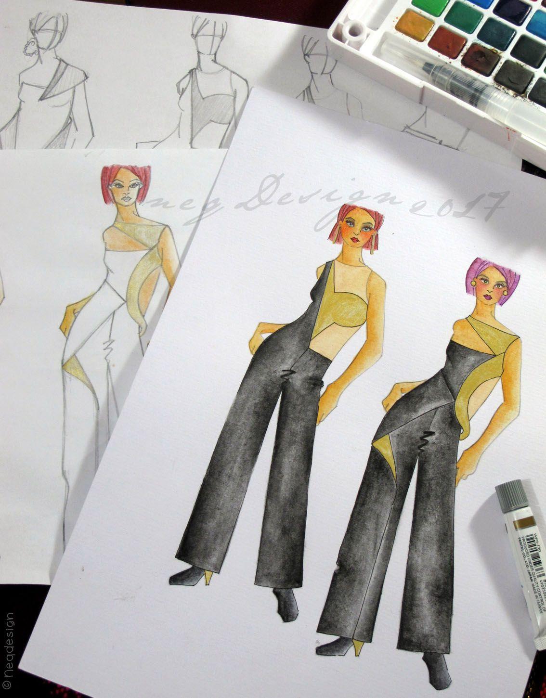 Jasa Desain Baju Jasa Fashion Design Jasa Design Baju Baju Fashion Wanita