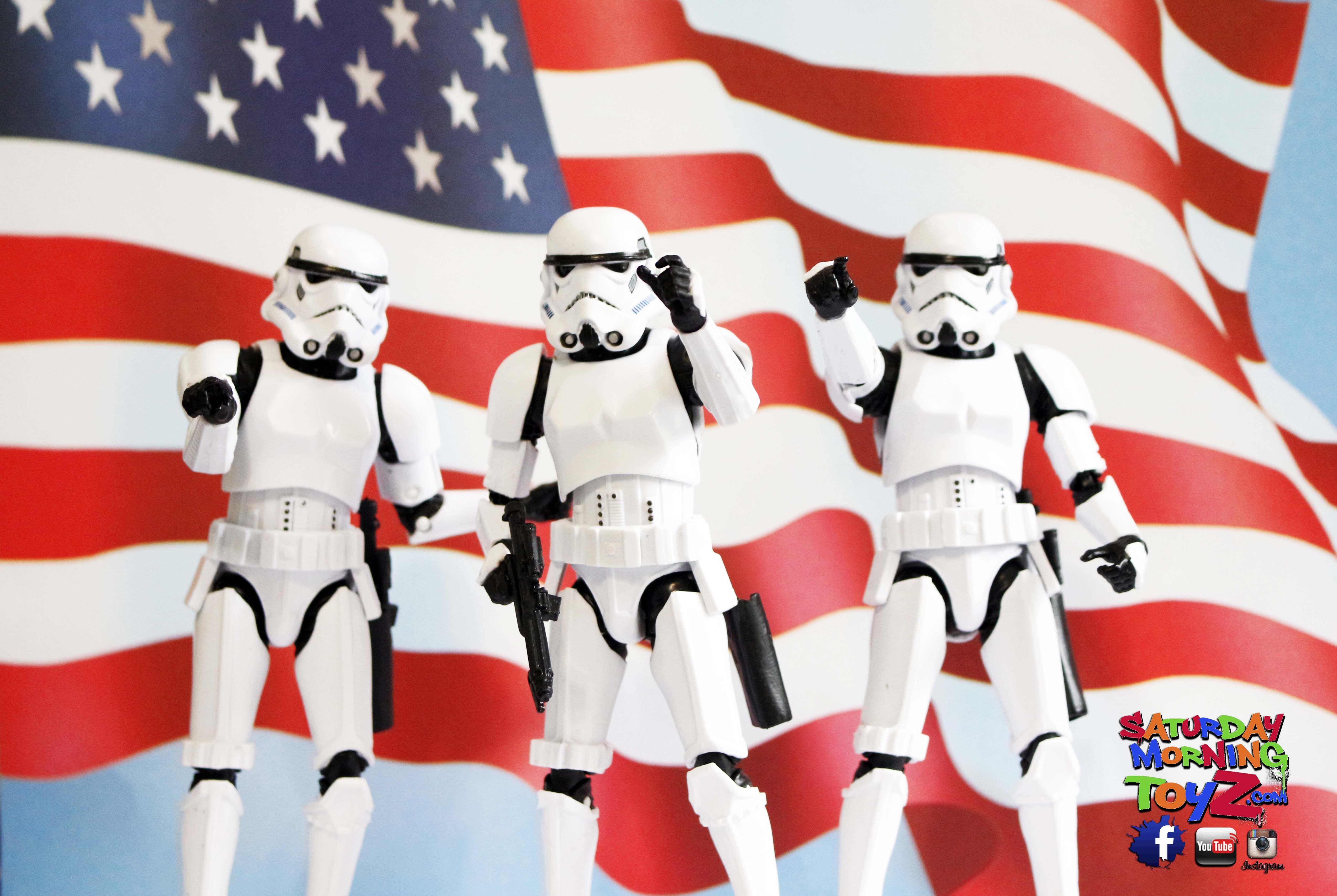Star Wars Black Series Stormtrooper Happy 4th Of July