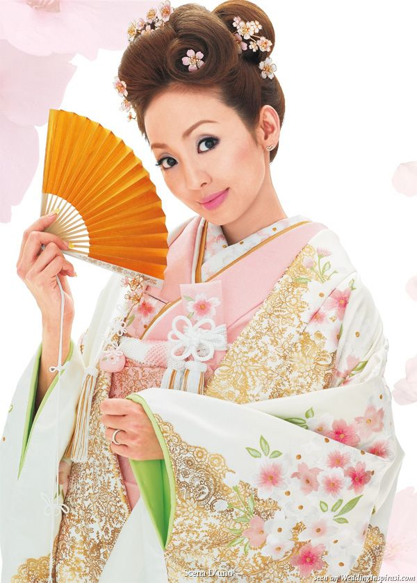 Scena D\'uno Japanese Wedding Kimono | Wedding kimono, Kimonos and ...