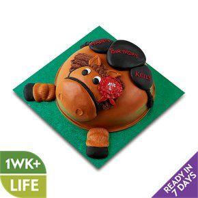 Prime Sparky The Pony Cake Waitrose Pony Cake 4Th Birthday Cakes Funny Birthday Cards Online Inifofree Goldxyz