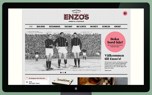 Enzo's on Behance