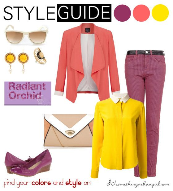 Bright Radiant Orchid outfit ideas for Clear Spring and ...