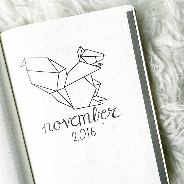 November Is Almost There Amp I Kept The Geometric Animal