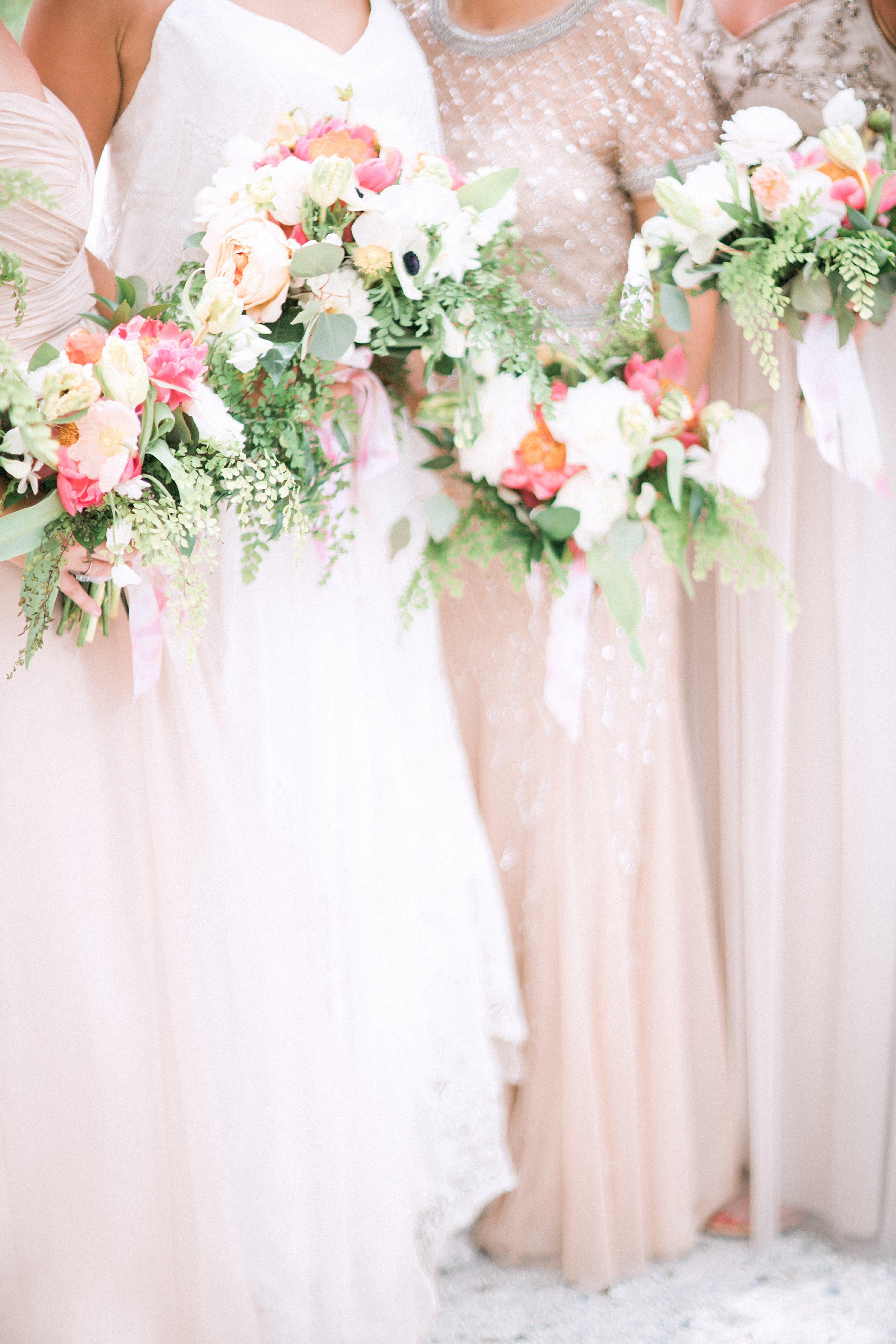 Wedding Flowers Bride Bouquet Ideas Bridesmaid Bouquets Blush