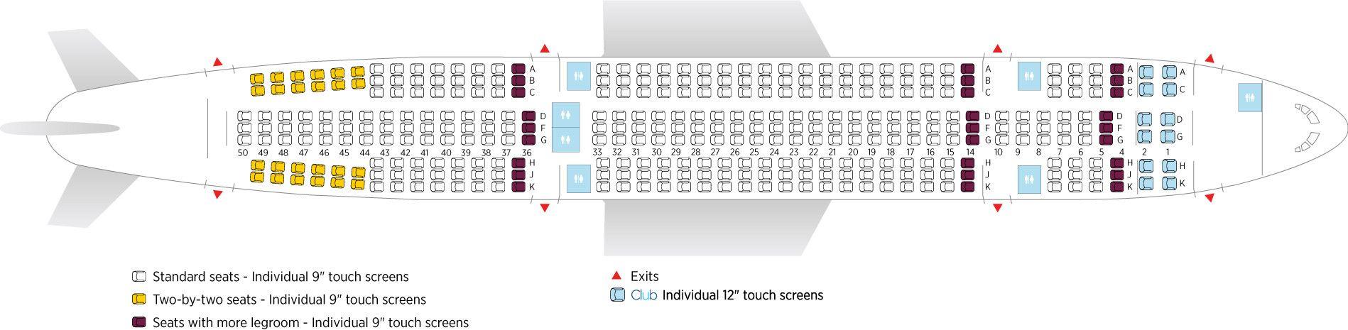 Sitzplätze sunexpress