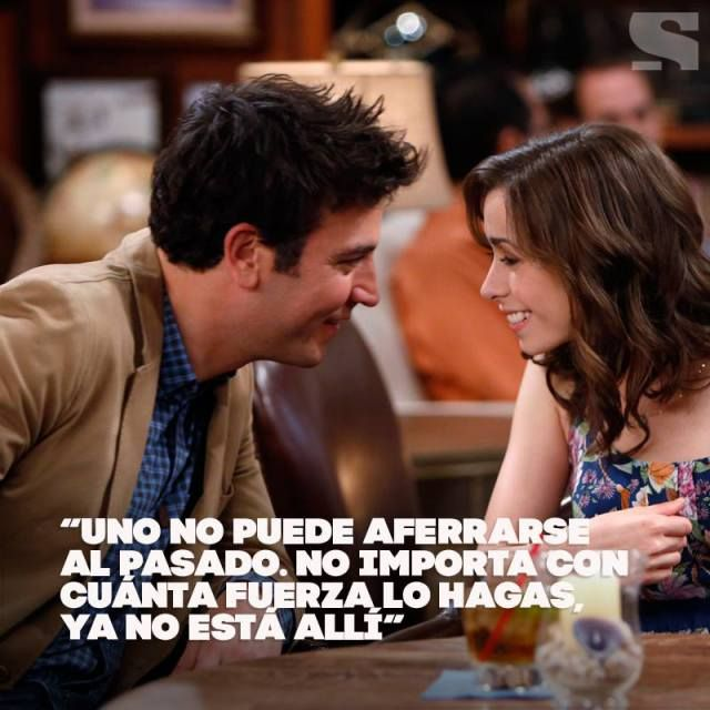 How I Met Your Mother Ted Mosby Uno No Puede Aferrarse Al