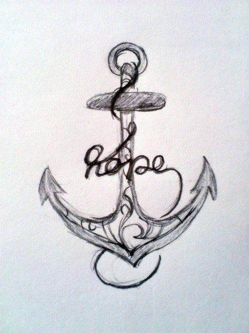 """résultat de recherche d'images pour """"tatouage ancre avec initiale"""