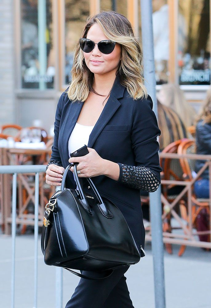 892d1418bb5 The Many Bags of Chrissy Teigen | the many bags of | Bags, Givenchy ...