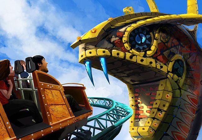 Busch Gardens Cobra Curse 2016
