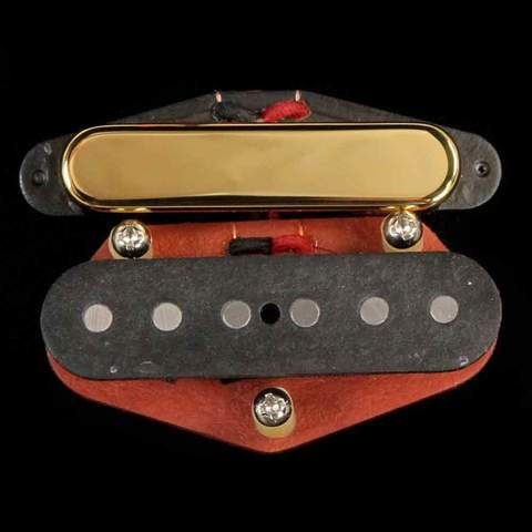 Bare Knuckle Boot Camp Old Guard Tele Pickup Set Gold (mit