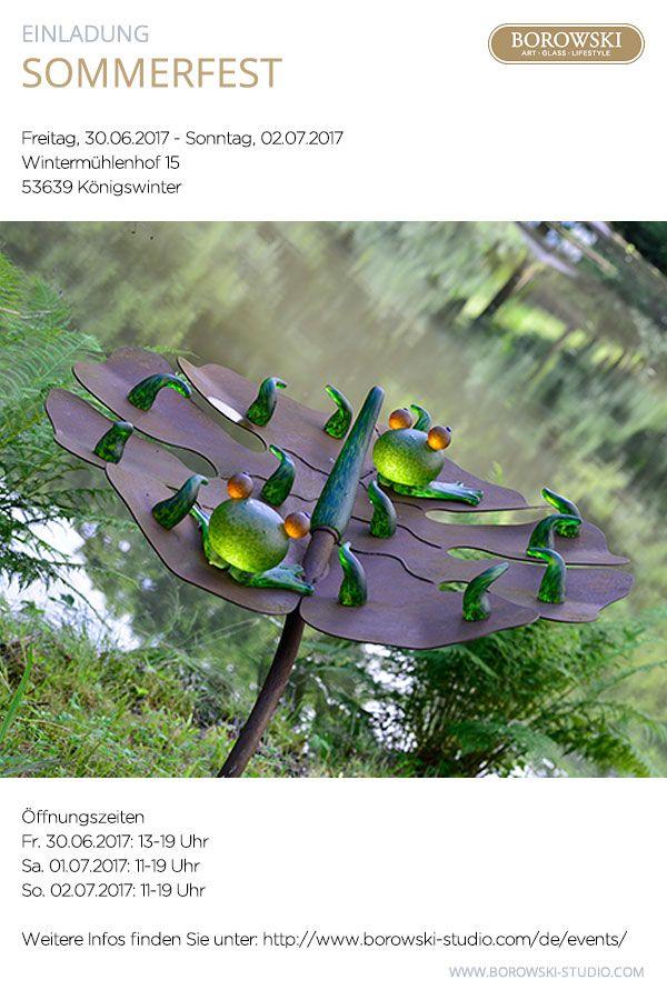 Auch Dieses Jahr Findet Wieder Auf Dem Landgut Wintermuhlenhof Und In Der Malerischen Parkanlage Zusammen Mit Der Galerie Con Kunstgalerie Glaskunst Sommerfest